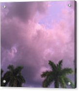 Storms In The Tropics Acrylic Print