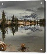 Storms Over Talbot Lake Acrylic Print