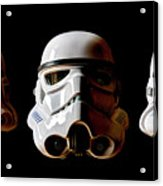 Stormtrooper 1-3 Acrylic Print