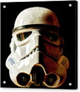 Stormtrooper 1 Weathered Acrylic Print