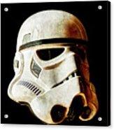 Stormtrooper 2 Weathered Acrylic Print