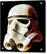 Stormtrooper 3 Weathered Acrylic Print
