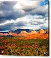 Stormwatch Arizona Acrylic Print