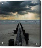 Stormy Atlantic Acrylic Print