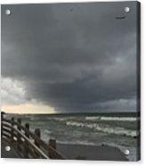 Stormy Caspersen Beach  Acrylic Print