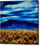 Stormy Day In Taos Acrylic Print