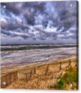 Stormy Dunes Acrylic Print