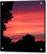 Stormy Evening Sky Acrylic Print