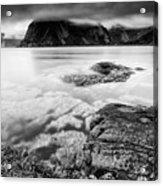 Stormy Lofoten Acrylic Print