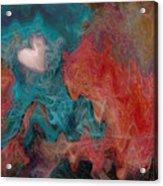 Stormy Love Acrylic Print