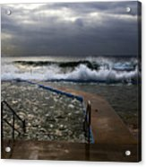 Stormy Morning At Collaroy Acrylic Print
