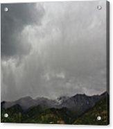 Stormy Mountain Acrylic Print