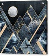 Stormy Mountains Acrylic Print