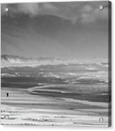Stormy Oceanside Oregon Acrylic Print