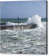 Stormy Seas Acrylic Print
