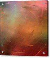 Stormy Seas Fire Acrylic Print