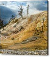 Stormy Skies At Mammoth Acrylic Print