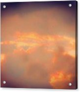 Stormy Sky In Summer Acrylic Print
