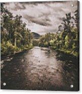 Stormy Streams Acrylic Print