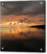Stormy Sunset Acrylic Print