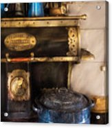 Stove - The Stove Acrylic Print by Mike Savad