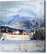 Stowe Valley Farm Acrylic Print