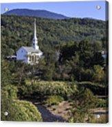 Stowe Vermont Acrylic Print