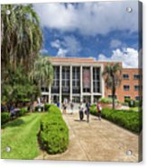 Stozier Library At Florida State University Acrylic Print