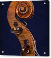 Stradivarius Scroll Acrylic Print
