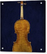 Stradivarius Violin Back Acrylic Print