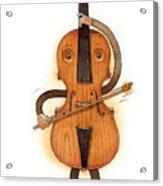 Stradivarius Violin Acrylic Print