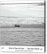 Strait Of Juan De Fuca Acrylic Print