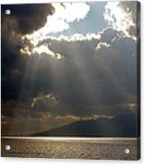 Strait Of Messina II Acrylic Print