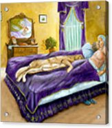 Strange Bedfellows Acrylic Print