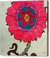 Strange Flower Acrylic Print
