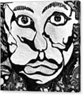 Strange Man Acrylic Print