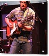 Strange Vine Guitarist Toby Cordova Acrylic Print