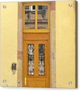 Strasbourg Door 03 Acrylic Print