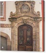 Strasbourg Door 09 Acrylic Print