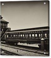 Strasburg Rail Road Acrylic Print