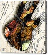 Strat Abstracta No. 4 Sunrise Acrylic Print