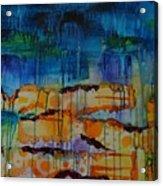 Strata I Acrylic Print by Shelli Finch