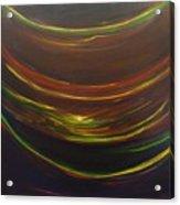 Strata Surf Acrylic Print