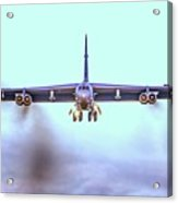 Stratofortress Leaving Color Acrylic Print
