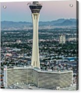 Stratosphere Casino Hotel And Tower Acrylic Print