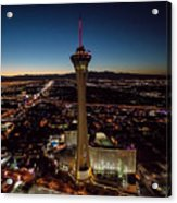 Stratosphere Casino Hotel  Acrylic Print