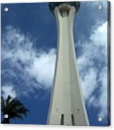 Stratosphere Tower Acrylic Print