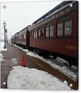 Strausburg Railroad Acrylic Print