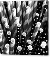 Straw Gathering  Acrylic Print
