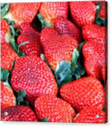 Strawberries 8 X 10 Acrylic Print